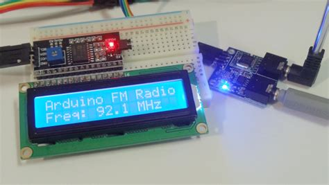Hks Tea5767 Fm Radio Stereo Module membuat radio fm stereo reciever dengan arduino dan