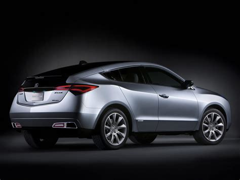 2009 acura zdx concept car pictures specifications