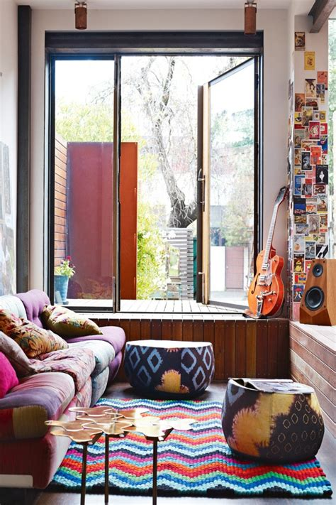 Hippie Chic Living Room bohemian chic modern decor feng shui interior design the tao of