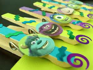 Monsters Inc Favors by Monsters Inc Birthday Favors Or Treat Bag Set Of 6