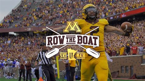 row the boat mn gophers university of minnesota golden gophers vs purdue mpls