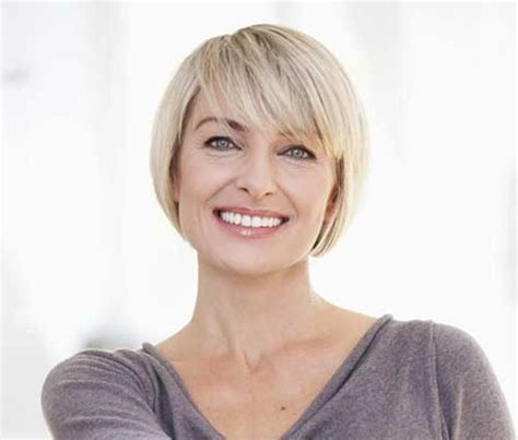 Senior Bobcut Without Bangs | short hair cuts for older women fashion pinterest
