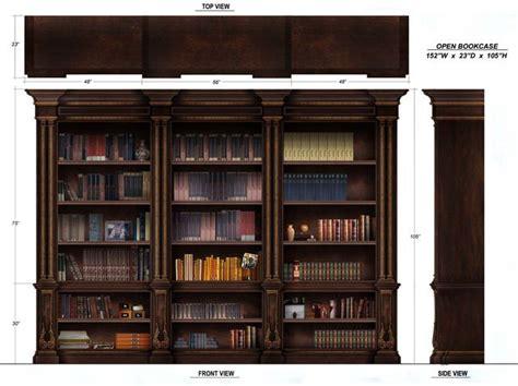 bookcase decor ideas open bookcase bookcase library