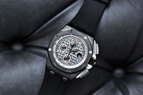 audemars piguet royal oak offshore black ceramic 44mm swiss ap watches