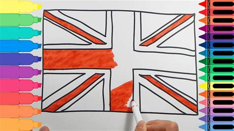 uk flag colors how to draw the flag drawings for uk flag