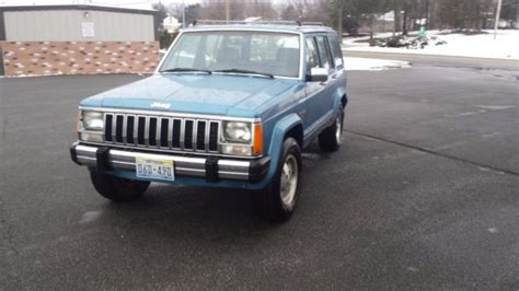 Where Are Jeep Cherokees Made 1987 Amc Jeep Laredo Xj 4 0 Auto Made Assembled