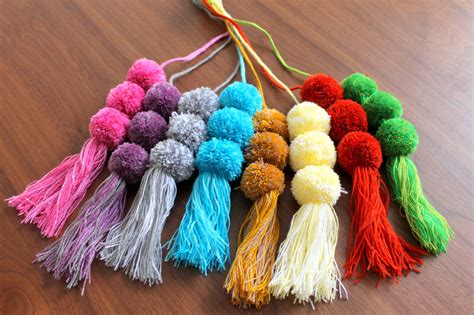 Handmade Pom Poms - new handmade pom poms colorful mexican accessories