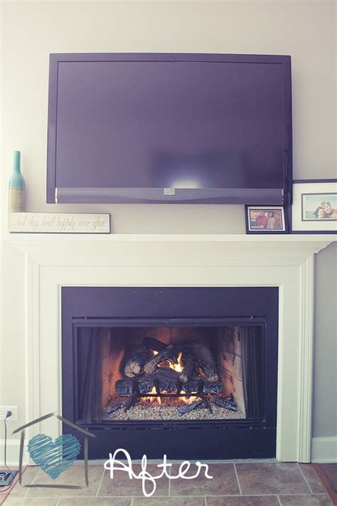 Tv Gas Fireplace Ideas by 17 Curated Fireplaces Ideas By Becthatcher Wood Store