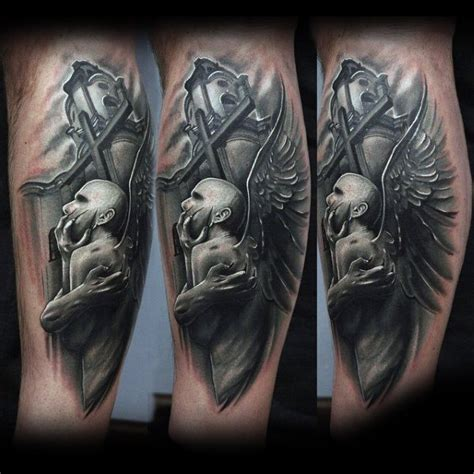 black and white tattoos for men 75 black and white tattoos for masculine ink designs
