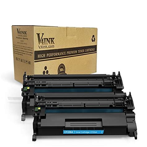 Chip Toner Cartridge Cf226a 26a Pro Mfp M426fdn F6w14a Berkualitas v4ink 2 pack replacement for cf226a 26a 3100 pages new import it all
