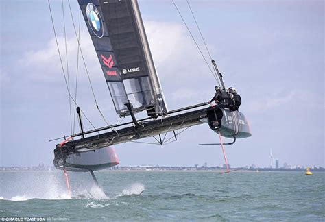 airbus and oracle unveil flying yacht for america s cup