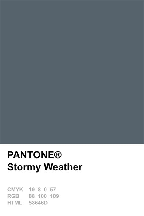weather color pantone 2015 weather colours