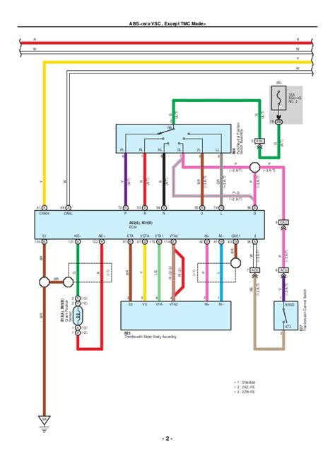 electrical wiring diagram 2007 toyota free