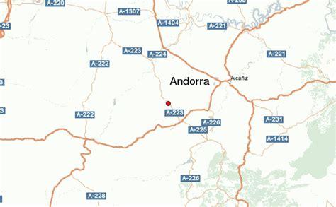 andora map andorra location guide
