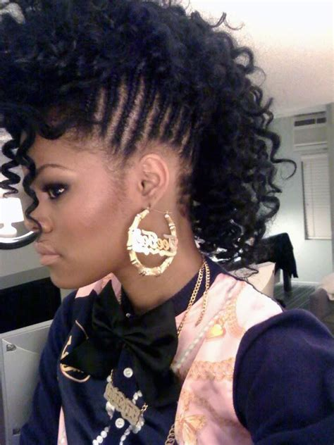 Mohawk Black Hairstyles by Mohawk Hairstyles For Black Beautiful Hairstyles