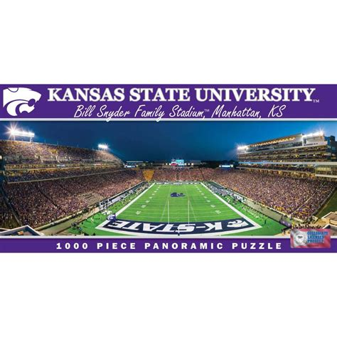 Kansas State Mba by Ncaa Kansas State Wildcats 1000 Puzzle 705988913327