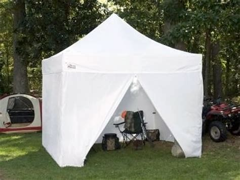 instant awnings king canopy tuff tent portable instant canopy with side wall option