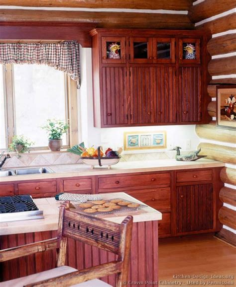 home kitchen cabinets log home kitchens pictures design ideas