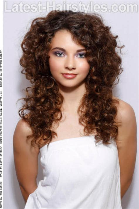 hairstyles for curly hairs in summer 24 fun cute long hairstyles for summer