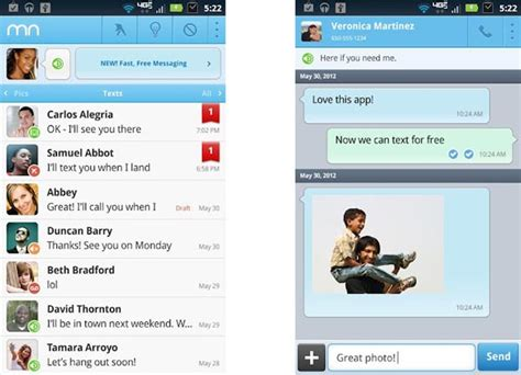 mr number app for android buildmobile upgrade your text messaging with mr number for android