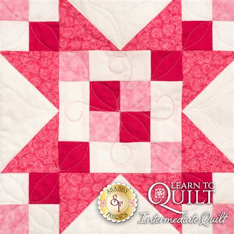 Learn To Quilt Kit by Learn To Quilt Series Intermediate Quilt Kit