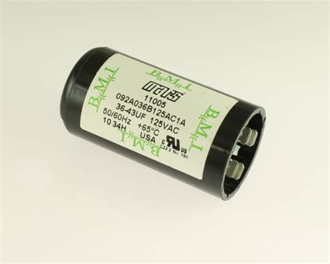 capacitor start motor applications 092a036b125ac1a bmi mars capacitor 36uf 125v application motor start 2020063437
