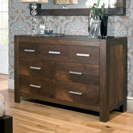 Bentley Designs Lyon Walnut 4 3 Drawer Dresser Furniture123 Lyon Walnut Bedroom Furniture