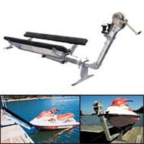 boat dock roller guides jet rail pwc docking station boat trailer
