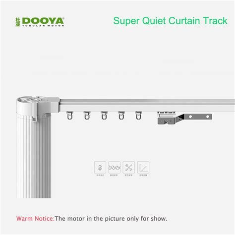 Paket T Motorized Curtain 2 Meter original dooya high quality customized electric curtain track for remote electrical
