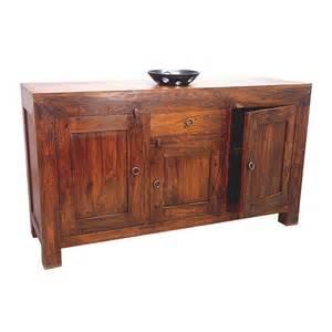 bahut en palissandre zen achat de buffet en bois