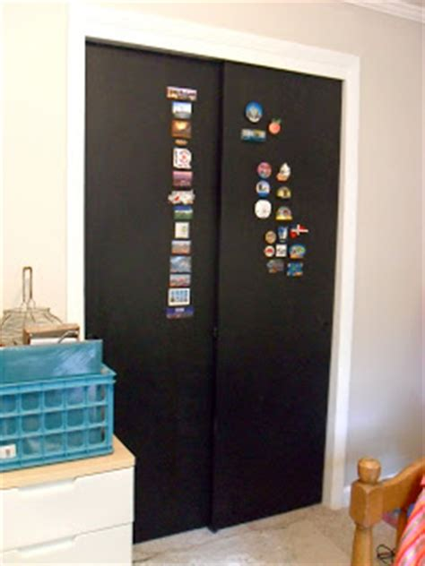 Chalkboard Sliding Closet Doors The Remodeled Chalkboard Doors The Finale