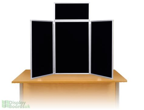 maxi desk top display stands with metal frame