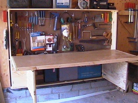 fold  workbench  woodgineer  lumberjockscom