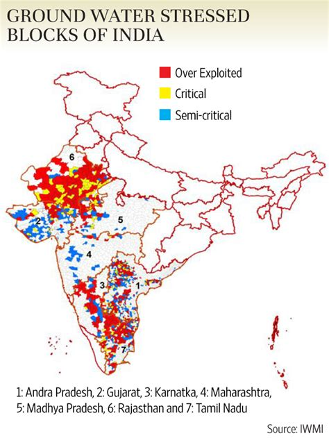 States With Low Cost Of Living india s groundwater drops to dangerous levels