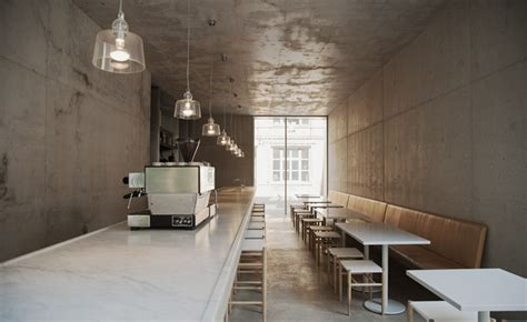 David Chipperfield Kantine by Kantine Restaurant Review Berlin Germany Wallpaper