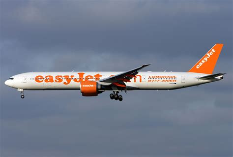 Easy Jr easyjet airline boeing 777 300 combo aviation design