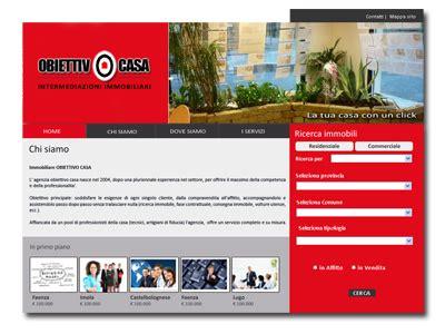 obiettivo casa faenza il nuovo sito di obiettivo casa evoluzioni web