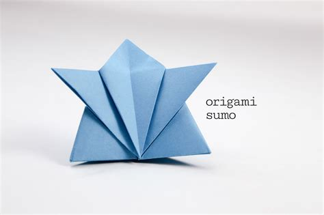 How To Make A Paper Sumo Wrestler - traditional origami sumo