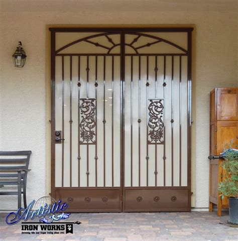 Iron Patio Doors 242 Best Images About Wrought Iron Security Doors On