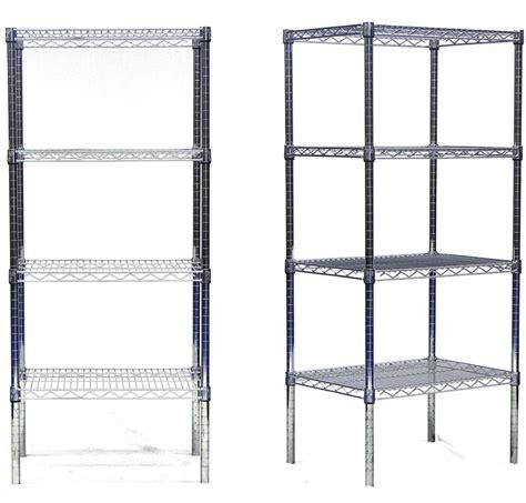 chrome plated wire shelves starter unit modular