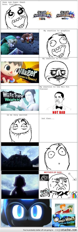 Wii U Meme - my super smash brothers wii u 3ds reaction admit it