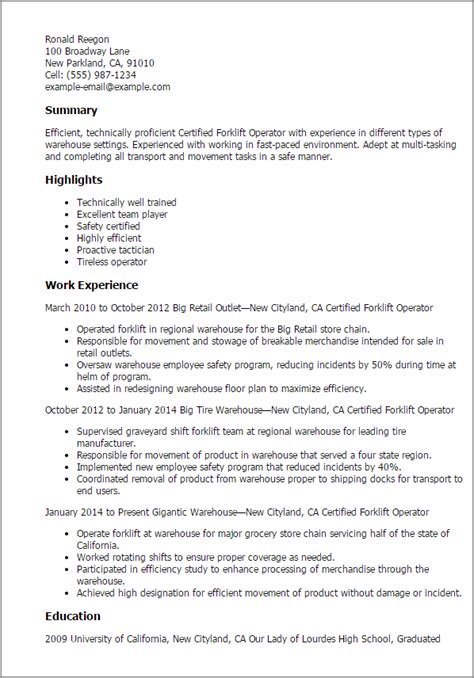 warehouse sle resume description free resume sles writing guides for all resume