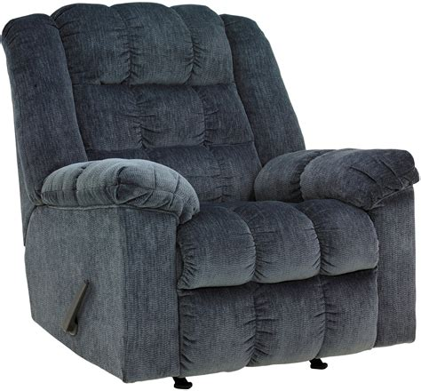 blue rocker recliner ludden blue rocker recliner from ashley 8110525
