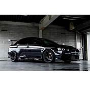 Black Mitsubishi Lancer Wallpaper  WallpaperSafari