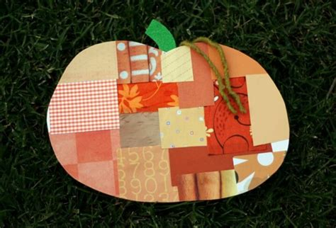 construction paper pumpkin crafts crafts using magazines