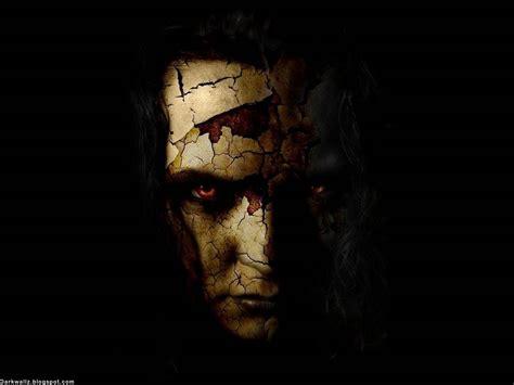 imagenes terrorificas hd cracked face horror wallpaper