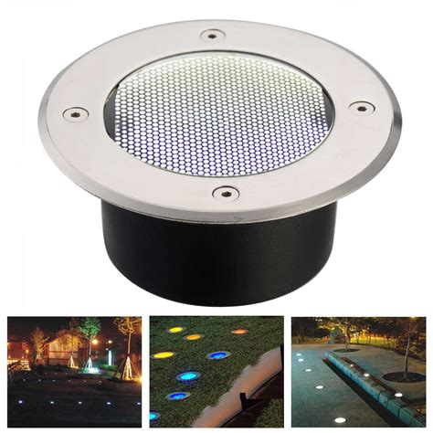 Stainless Steel Weatherproof Solar Power Ground Light Solar Ground Lights