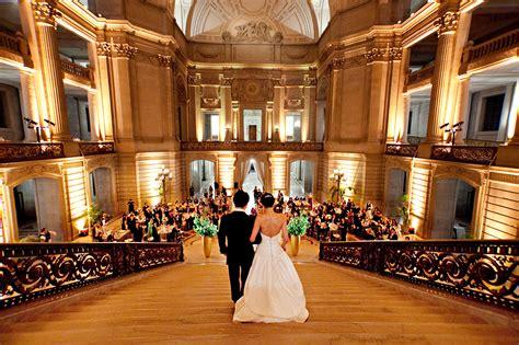 wedding reception halls in san francisco ca san francisco city weddings best wedding catering
