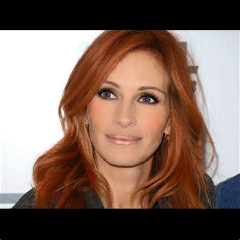 julia roberts red hair with highlights julia roberts red hair google search hair pinterest