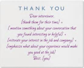 what to write in a thank you note after an